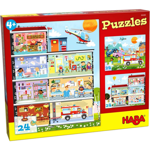 The Nestery: Haba - Jigsaw Puzzle - Little Hospital