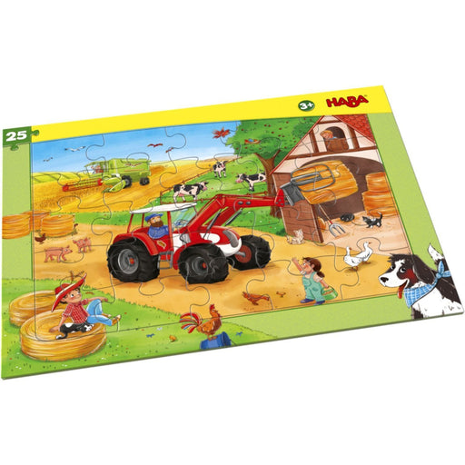The Nestery: Haba - Frame Puzzle Agricultural Machinery