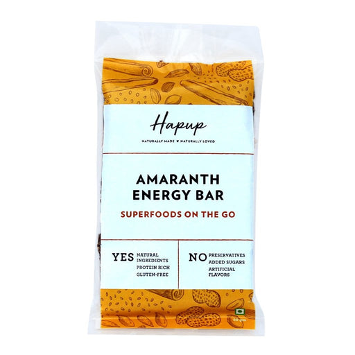The Nestery : Hapup - Energy Bar - Amaranth (Pack Of 6)