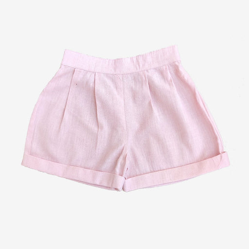 The Nestery : Ikeda Designs - flared shorts - Pink