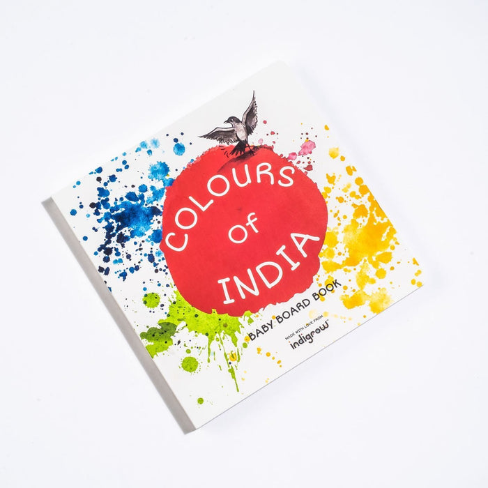The Nestery: Indigrow Kids - Colours Of India Baby Board Book