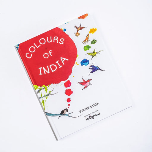 The Nestery: Indigrow Kids - Colours Of India Baby Story Book