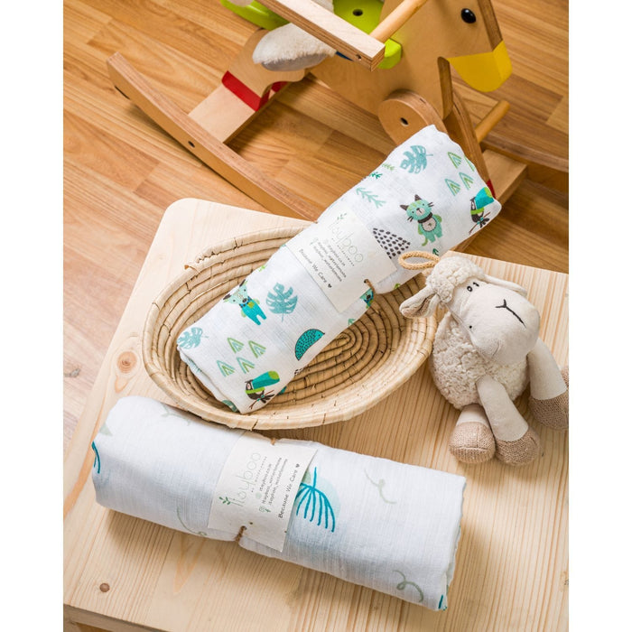 The Nestery :Istyboo -  Forrest And Lilly - Muslin Swaddle