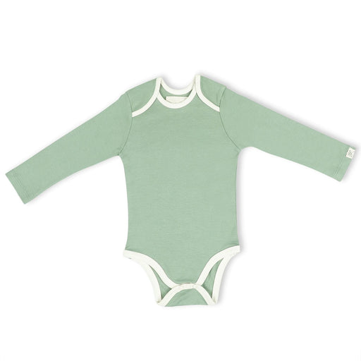 The Nestery : Itsyboo By Watermelon - Full Sleeve Onsie - Sage Green