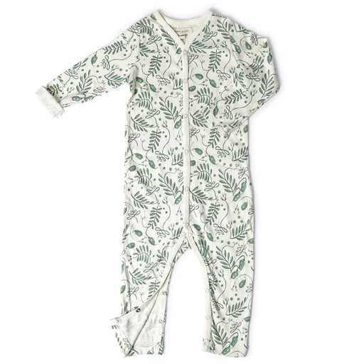 The Nestery : Itsyboo By Watermelon - Full Sleeve Romper + Pockets - The Wild Vine