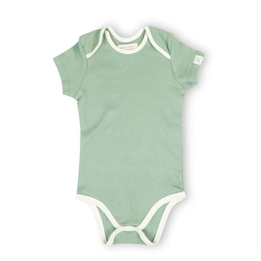 The Nestery : Itsyboo By Watermelon - Half Sleeve Onsie - Sage Green