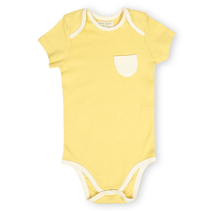 The Nestery : Itsyboo By Watermelon - Half Sleeve Onsie - Sunny Side Up