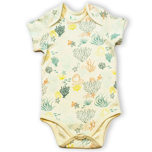 The Nestery : Itsyboo By Watermelon - Half Sleeve Onsie - Under Water World