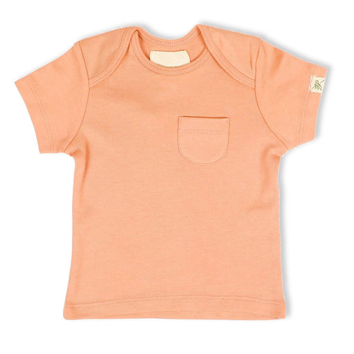 The Nestery : Itsyboo By Watermelon - Half Sleeve T-Shirt - Coral Blush