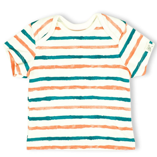 The Nestery : Itsyboo By Watermelon - Half Sleeve T-Shirt - Stripe Hype