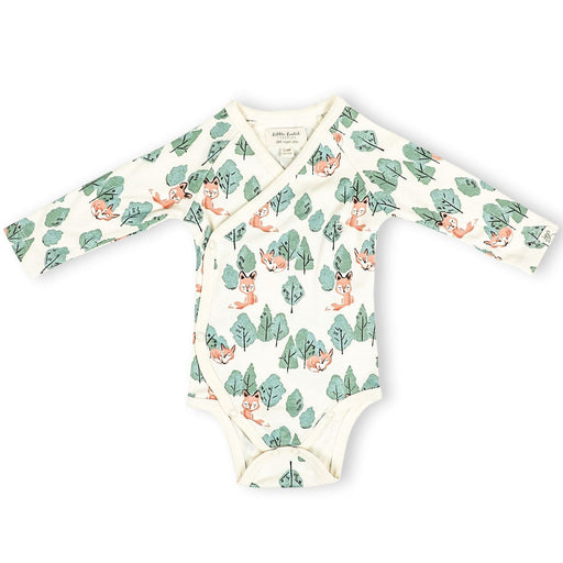 The Nestery : Itsyboo By Watermelon - Kimono Full Sleeve Onsie - Crafty Fox