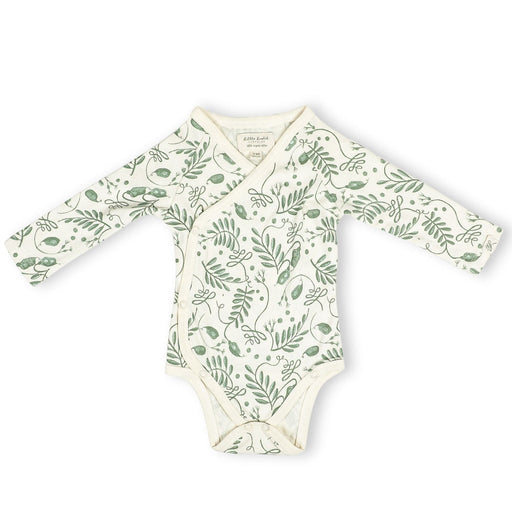 The Nestery : Itsyboo By Watermelon - Kimono Full Sleeve Onsie - The Wild Vine