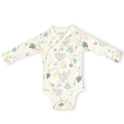 The Nestery : Itsyboo By Watermelon - Kimono Full Sleeve Onsie - Under Water World