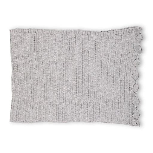 The Nestery : Itsyboo By Watermelon - Knit Blanket - Grey