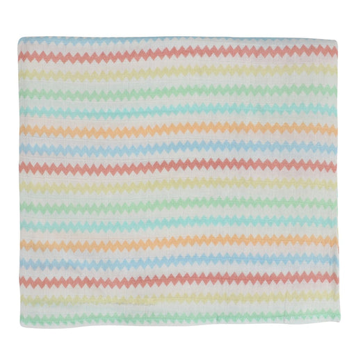 The Nestery : Itsyboo - Zig Zag Muslin Swaddle