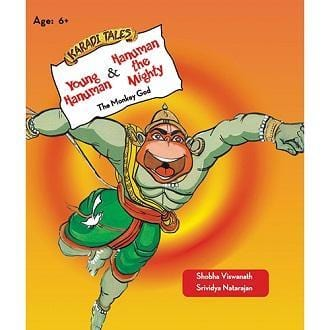 The Nestery: Karadi Tales - Young Hanuman / Hanuman The Mighty – The Monkey God