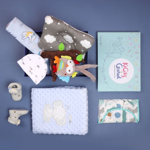 The Nestery : Kicks & Crawl - Boys Starry Night Sleep Hamper