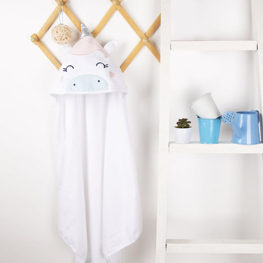 The Nestery : Kicks & Crawl - Hooded Towel - Magical Unicorn