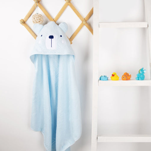 The Nestery : Kicks & Crawl - Hooded Towel - Snowy Bear