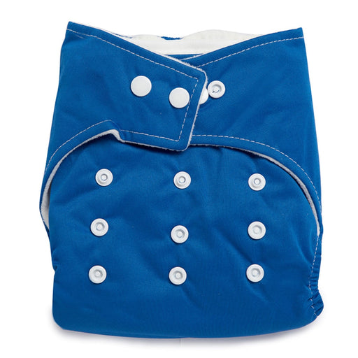 The Nestery : Kicks & Crawl - Reusable Cloth Diaper - Navy Blue