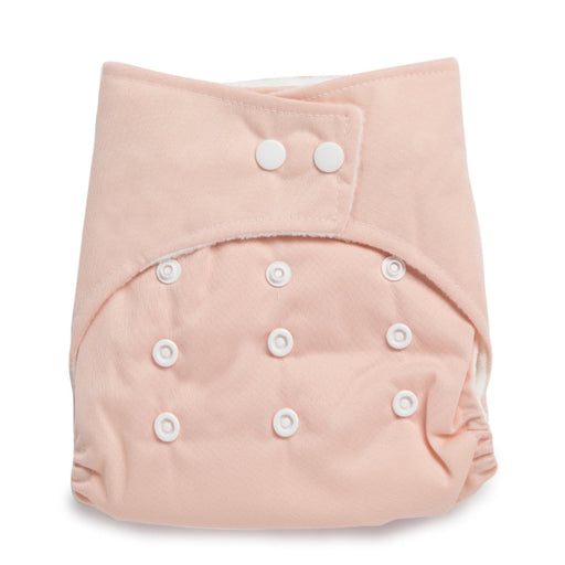 The Nestery : Kicks & Crawl - Reusable Cloth Diaper - Peach