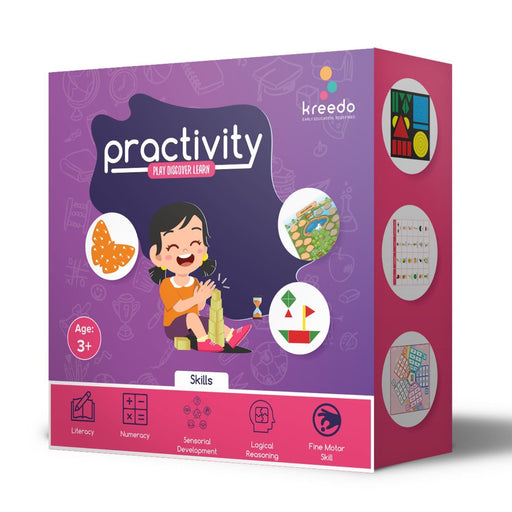 The Nestery : Kido Enterprises - Practivity Toy Box: 3 - 4 Year Ols (Level I)