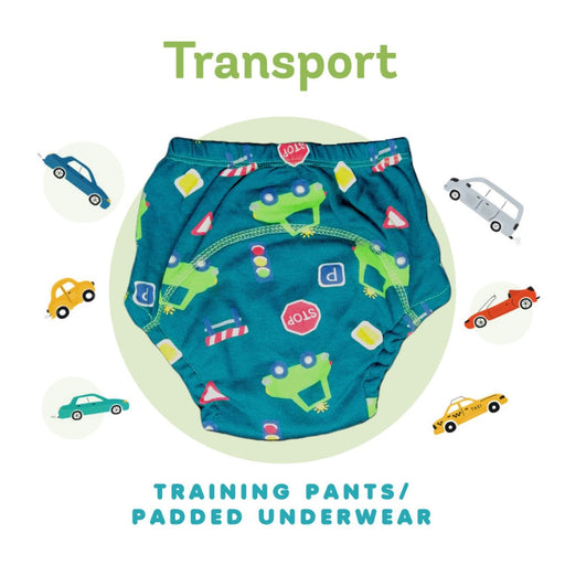 The Nestery : Kindermum - Training Pants - Transport