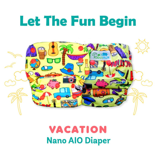 The Nestery : Kindermum - Nano All-In-One Trim - Vacation