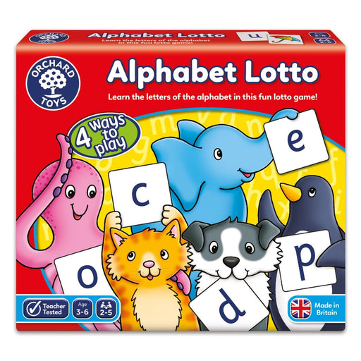 The Nestery : Kub & Bear - Orchard Toys - Alphabet Lotto