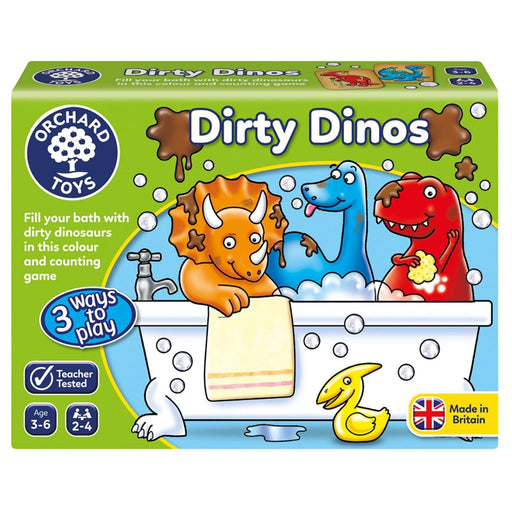 The Nestery : Kub & Bear - Orchard Toys - Dirty Dinos