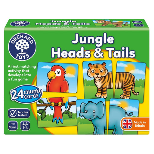 The Nestery : Kub & Bear - Orchard Toys - Jungle Heads And Tails