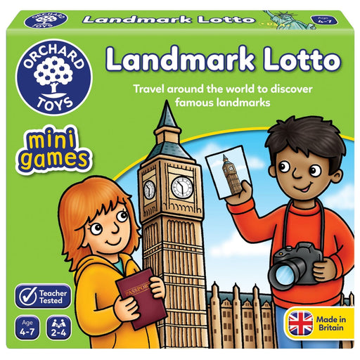 The Nestery : Kub & Bear - Orchard Toys - Landmark Lotto