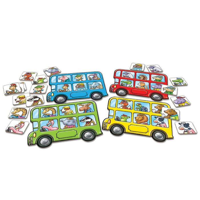 The Nestery : Kub & Bear - Orchard Toys - Little Bus Lotto
