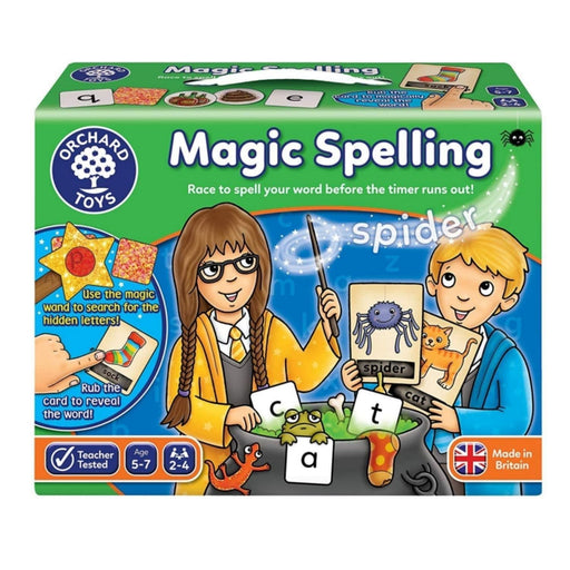 The Nestery : Kub & Bear - Orchard Toys - Magic Spelling