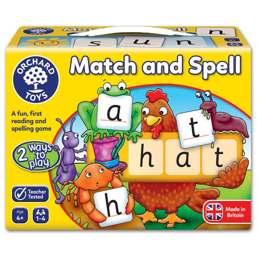 The Nestery : Kub & Bear - Orchard Toys - Match And Spell