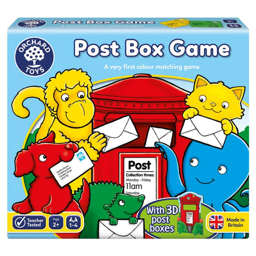 The Nestery : Kub & Bear - Orchard Toys - Post Box Game