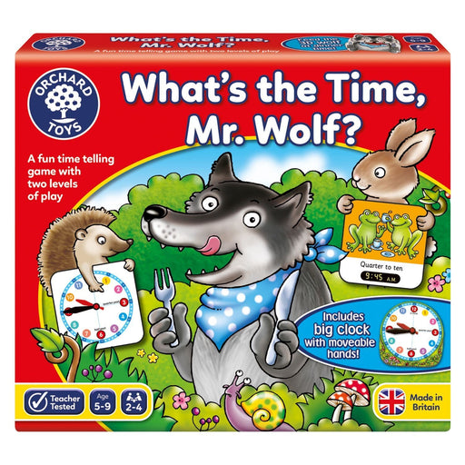 The Nestery : Kub & Bear - Orchard Toys - What'S The Time, Mr. Wolf