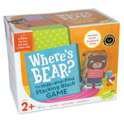 The Nestery : Kub & Bear - Peaceable Kingdom - Where'S Bear