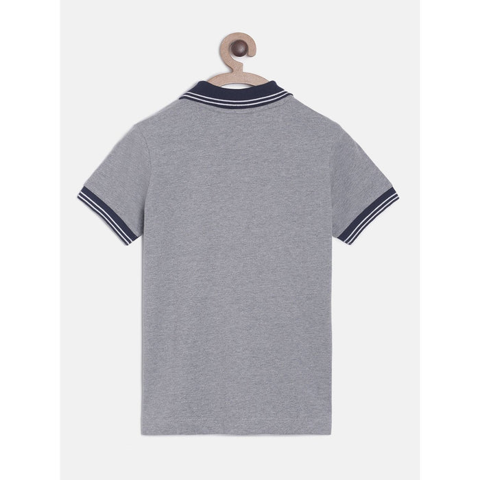 Grey Cheer Polo Cotton T-Shirt