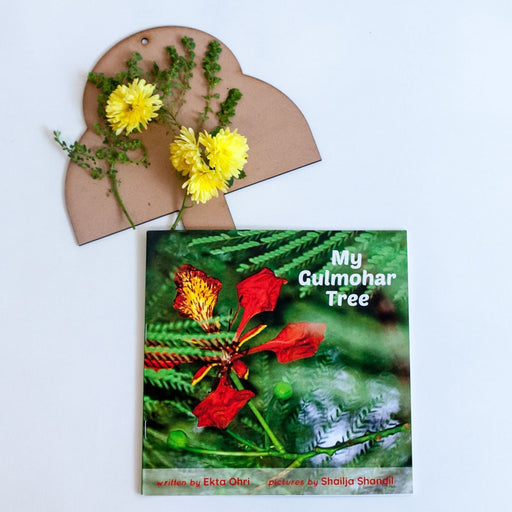 The Nestery:  Litjoys - My Gulmohar Tree - Storybook With Personalised Experiential Tree