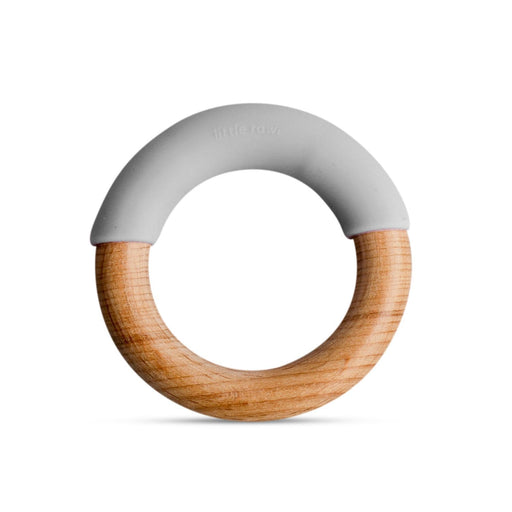 The Nestery: Little Rawr - Wood & Silicone Simple Ring - Walrus