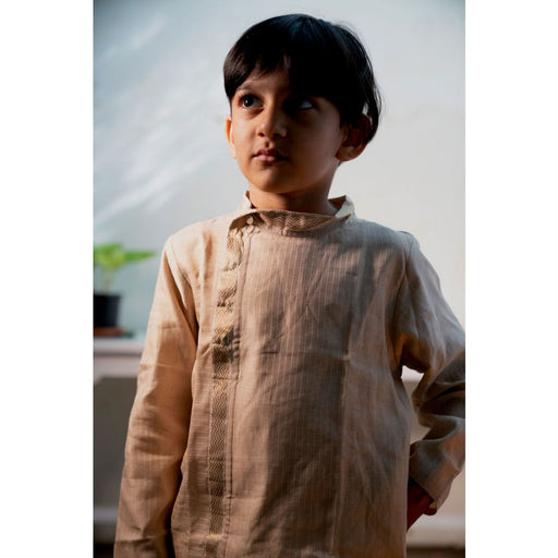 The Nestery : Love The World Today - Kurta - Mogra