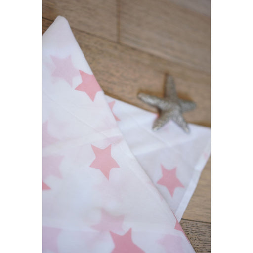 The Nestery : Love The World Today - Swaddle - Wish Upon A Star In Peach Pink