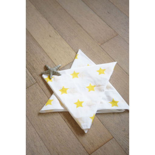 The Nestery : Love The World Today - Swaddle - Wish Upon A Star In Sunshine Yellow