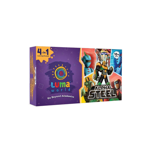 The Nestery : Luma World - Alpha Steel - All-In-One Educational Activiy Kit