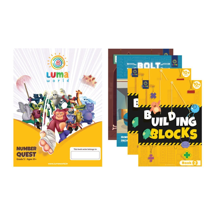 Number Quest - Bundle of 4 Books