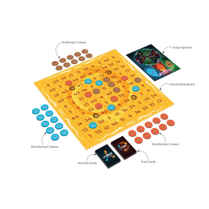 The Nestery : Luma World - Xíng: A Token Strategy Board Game