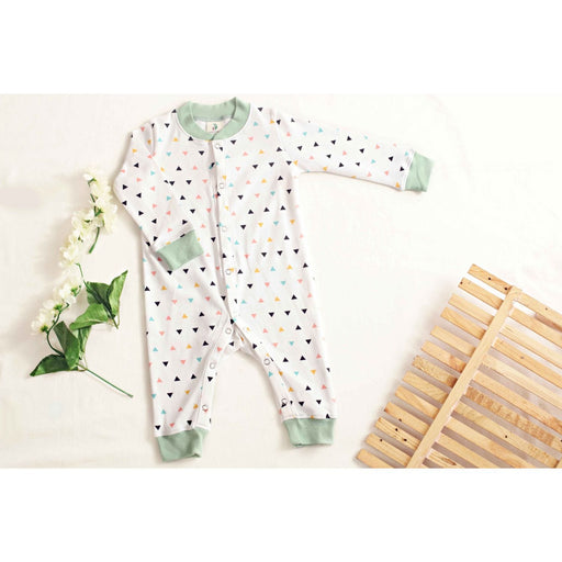 The Nestery : Maahir & Mom - Full Sleeves Romper - Tri-Angle