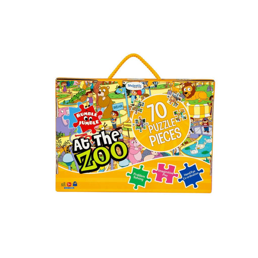 The Nestery : Majestic Book Club - At The Zoo - Floor Puzzle