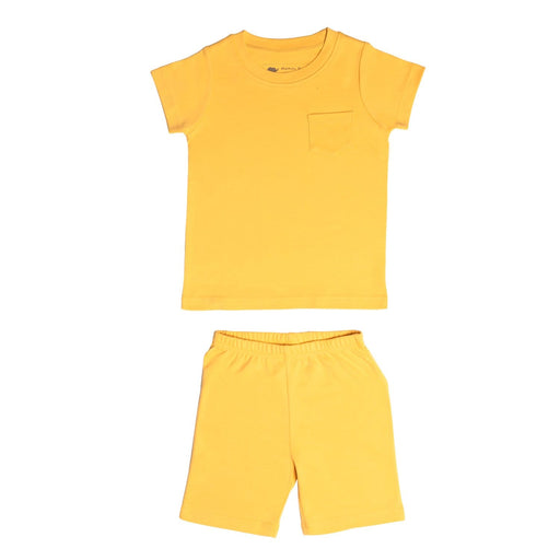 The Nestery: Mamas Boo - Half Sleeve T-Shirt & Sporty Shorts - Honey